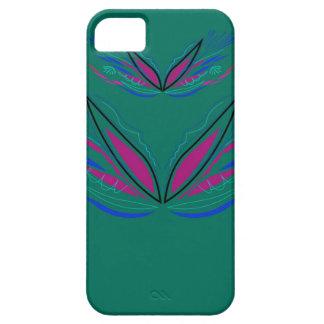 Capa Para iPhone 5 Eco do verde da mandala do bem-estar