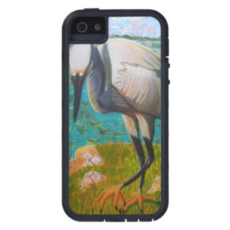 Capa Para iPhone 5 Egret pronto para golpear o caso