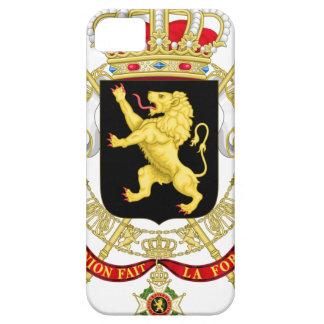 Capa Para iPhone 5 Emblema belga - brasão de Bélgica