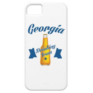 Capa Para iPhone 5 Equipe do bebendo de Geórgia