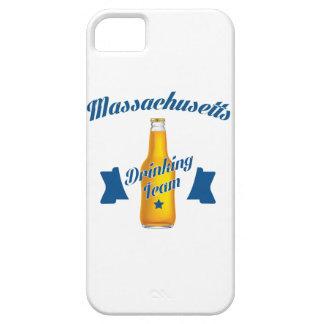 Capa Para iPhone 5 Equipe do bebendo de Massachusetts