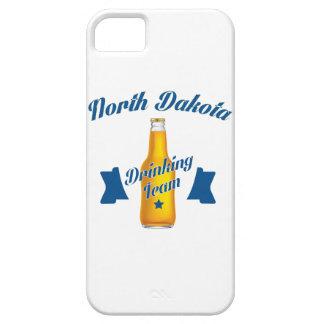 Capa Para iPhone 5 Equipe do bebendo de North Dakota