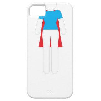 Capa Para iPhone 5 Era nunca um vestido - mulher super da menina da
