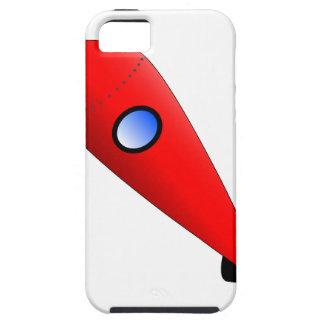 Capa Para iPhone 5 Espaço Rocket vermelho