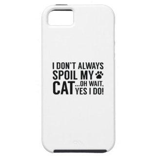 Capa Para iPhone 5 Estrague meu gato