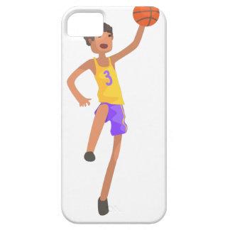 Capa Para iPhone 5 Etiqueta de salto da ação do jogador de