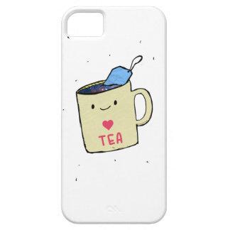 """Capa Para iPhone 5 """"Eu amo camisa e roupa do chá"""""""