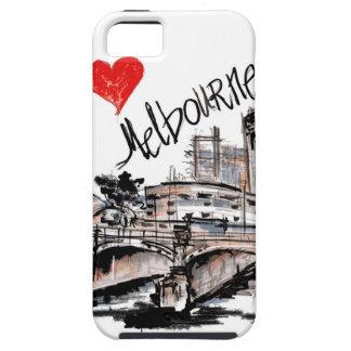 Capa Para iPhone 5 Eu amo Melbourne