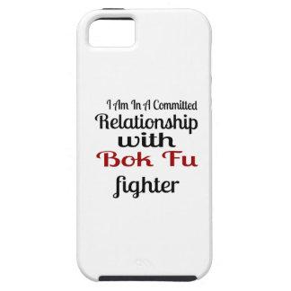 Capa Para iPhone 5 Eu estou em uma relação cometida com luta de Bok