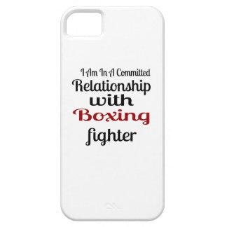 Capa Para iPhone 5 Eu estou em uma relação cometida com luta do