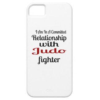 Capa Para iPhone 5 Eu estou em uma relação cometida com lutador do