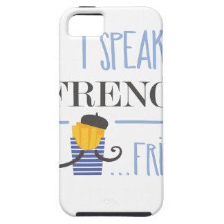 Capa Para iPhone 5 Eu falo o francês… Fritadas
