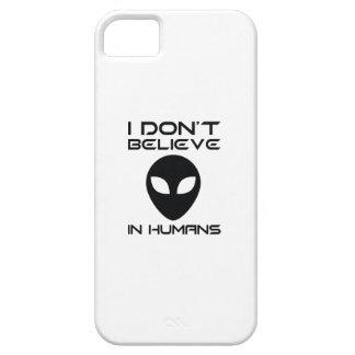 Capa Para iPhone 5 Eu não acredito nos seres humanos