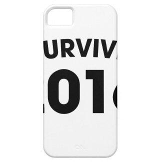 Capa Para iPhone 5 Eu sobrevivi a 2016