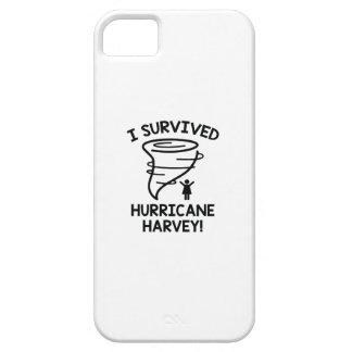 Capa Para iPhone 5 Eu sobrevivi ao furacão Harvey