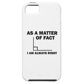 Capa Para iPhone 5 Eu sou sempre direito