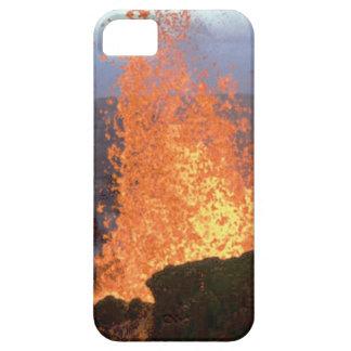 Capa Para iPhone 5 explosão do vulcão da lava