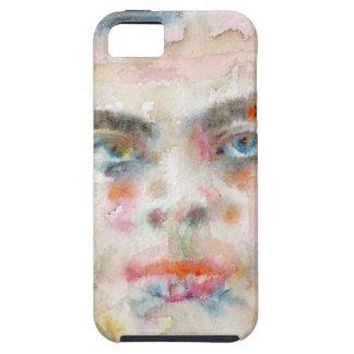 Capa Para iPhone 5 exupery de Antoine de santo - retrato da aguarela
