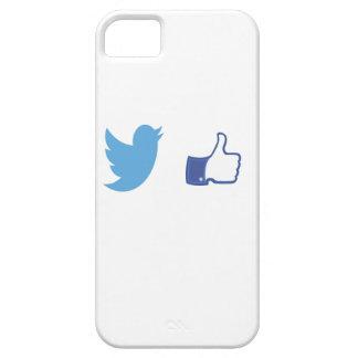 Capa Para iPhone 5 Facebook Twitter