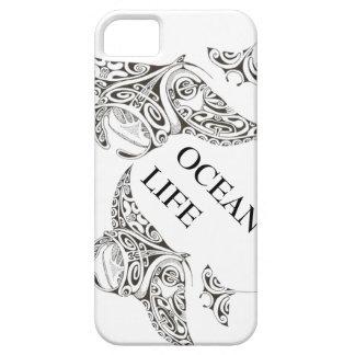 Capa Para iPhone 5 família da vida do oceano dos manta-raios
