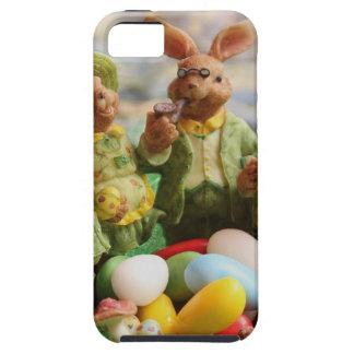 Capa Para iPhone 5 Família do coelhinho da Páscoa