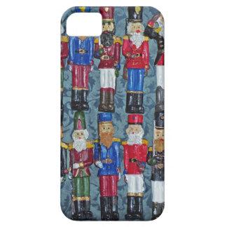 Capa Para iPhone 5 Figuras do natal vintage, soldados idosos
