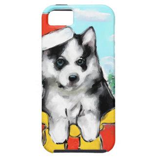 Capa Para iPhone 5 Filhote de cachorro do Malamute do Alasca