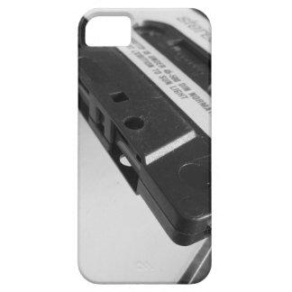 Capa Para iPhone 5 Fita da cassete áudio do vintage na mesa de