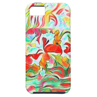 Capa Para iPhone 5 Flores na água