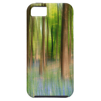 Capa Para iPhone 5 Floresta BRITÂNICA do carvalho do Bluebell de