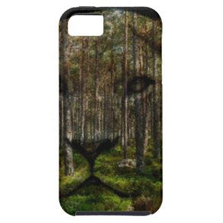 Capa Para iPhone 5 Floresta dentro de um tigre