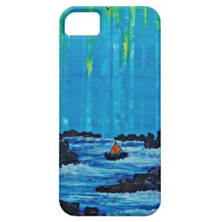 Capa Para iPhone 5 Floresta enevoada gigante pelo rio