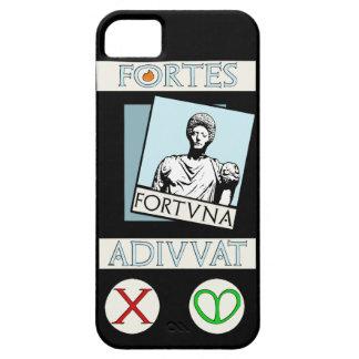 Capa Para iPhone 5 Fortes Fortuna Adiuvat