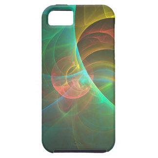 Capa Para iPhone 5 Fractal abstrato colorido