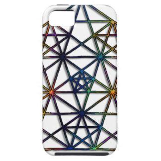 Capa Para iPhone 5 Fractal sagrado da geometria da abundância da vida