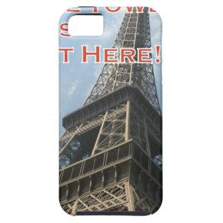 Capa Para iPhone 5 Francês do verão 2016 de Paris France da torre