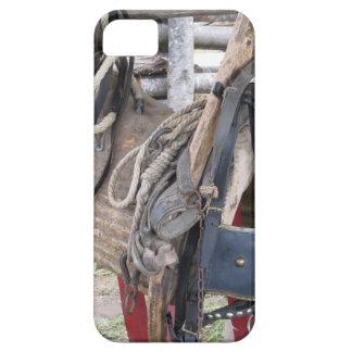 Capa Para iPhone 5 Freios e bocados de couro gastos do cavalo