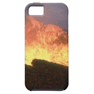Capa Para iPhone 5 fulgor do fogo vulcânico