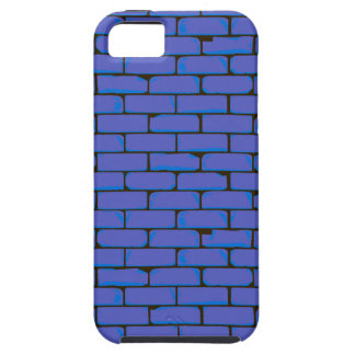 Capa Para iPhone 5 Fundo azul largo da parede