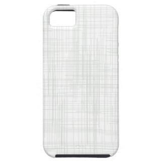 Capa Para iPhone 5 Fundo branco do efeito do Grunge