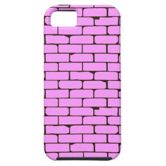 Capa Para iPhone 5 Fundo cor-de-rosa largo da parede