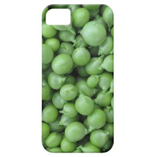 Capa Para iPhone 5 Fundo da ervilha verde. Textura de ervilhas verdes
