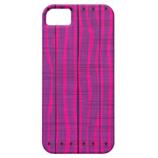 Capa Para iPhone 5 Fundo de madeira roxo do Grunge