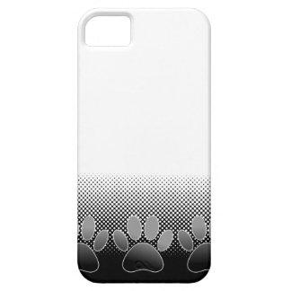 Capa Para iPhone 5 Fundo preto e branco do inclinação das patas
