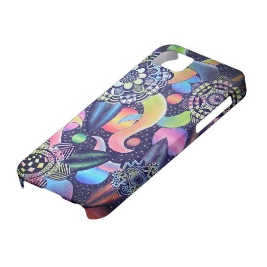 Capa Para iPhone 5 Galáxia das Flores