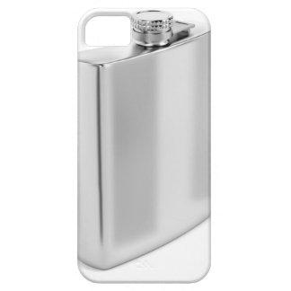 Capa Para iPhone 5 Garrafa anca de prata