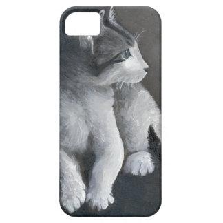 Capa Para iPhone 5 Gatinho do gato malhado