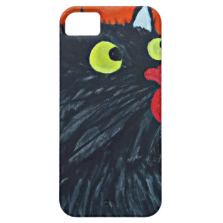 Capa Para iPhone 5 Gato e as moscas