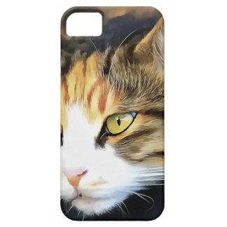 Capa Para iPhone 5 Gato satisfeito