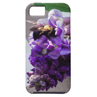 Capa Para iPhone 5 Glicínias & abelha